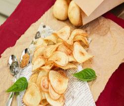 Potato Harvesting & Potato Chips