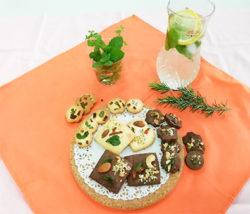 Herb Harvesting & Cookies and Scones