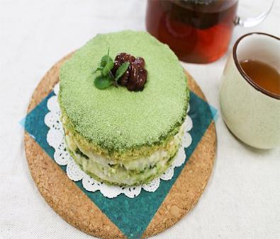 Tea Tiramisu-Style Cake
