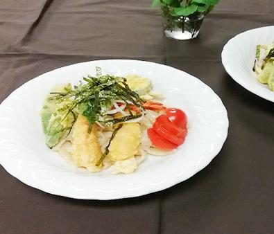 Bukkake Udon with Summer Vegetables