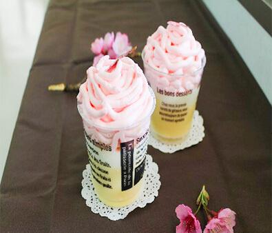 Cherry Blossom Mont-BlancPudding