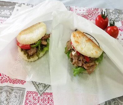 Kurobuta Rice Burger
