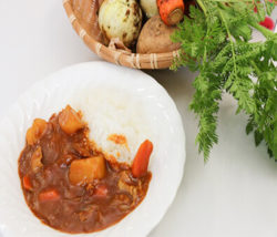 Vegetable Harvesting & Curry Rice